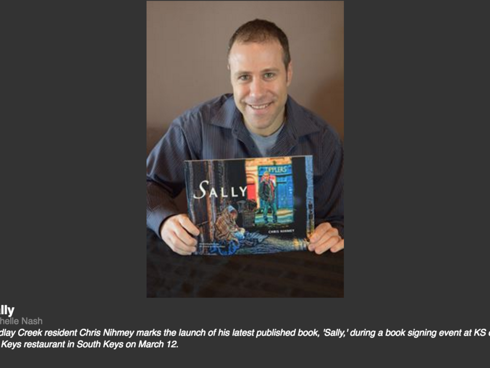 Chris Nihmey Sally picture book