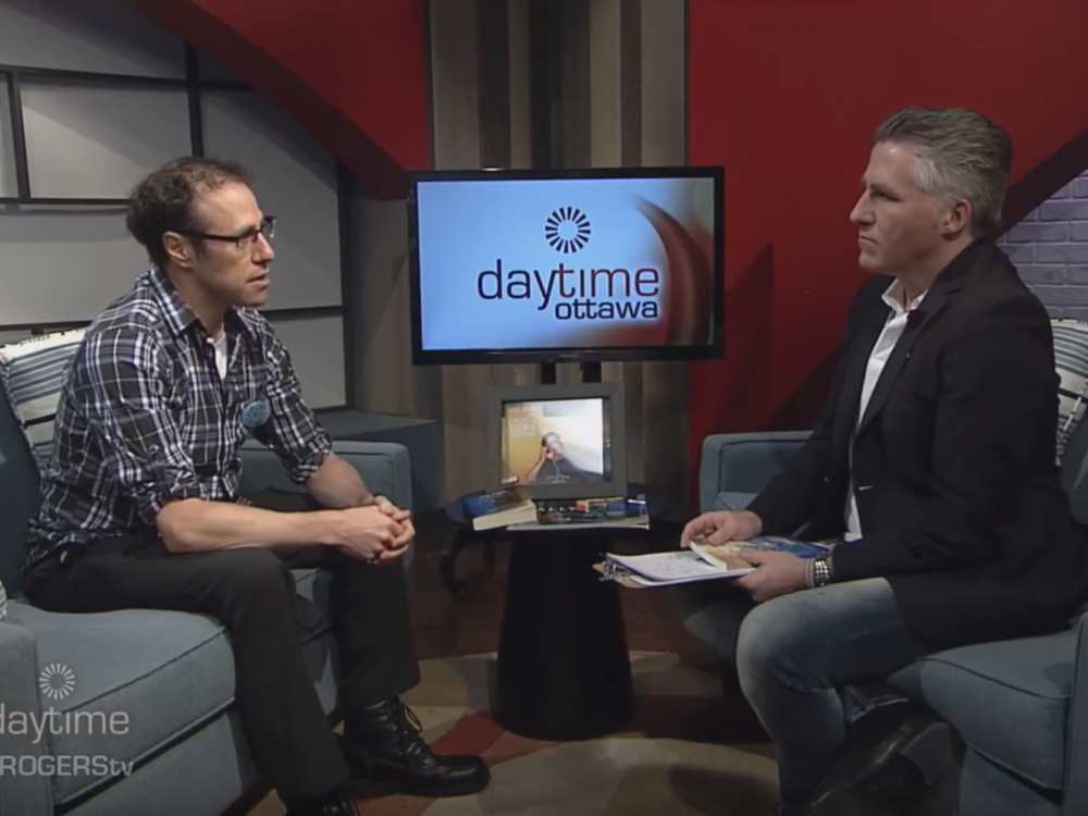 Chris Nihmey and Dylan Black Rogers Daytime Ottawa